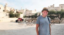 Brendan enjoying earthy and sophisticated Puglia