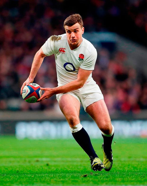 England's George Ford. Photo: David Davies/PA