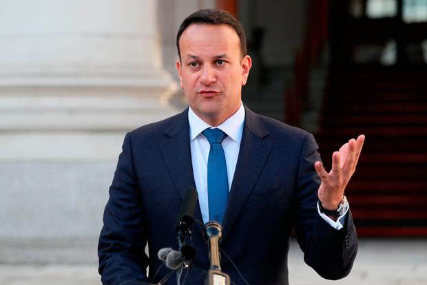 Condemnation: Leo Varadkar hit out at the bomb attack in Derry. Photo: PA
