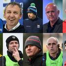 Top row: Terry Hyland, Mickey Graham, Peter Keane, Padraic Davis, John Maughan, Wayne Kierans. Bottom row: Jack Cooney, Benji Whelan, Paul Taylor, James Horan, Anthony Cunningham, Paddy Tally.