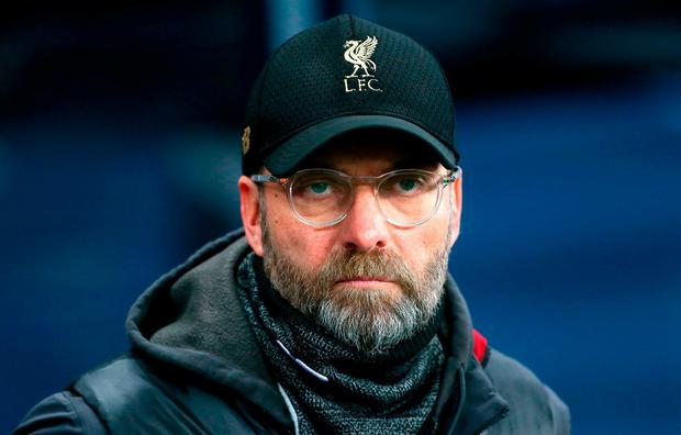 Liverpool manager Jurgen Klopp. Richard Sellers/PA Wire.