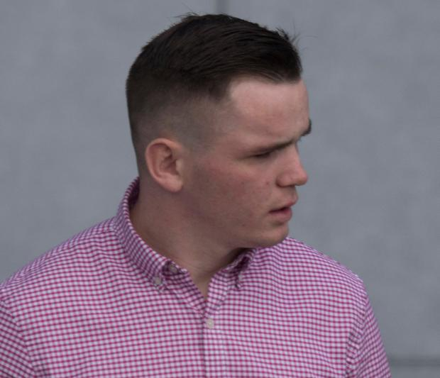 Row over car parking: Owen McDonagh was sentenced to 80 hours of community service at Letterkenny District Court. Photo: North West Newspix
