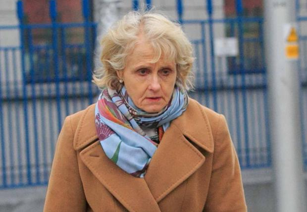 Pathologist Dr Margaret Bolster at the Coroners Court yesterday in Dublin. Photo: Collins
