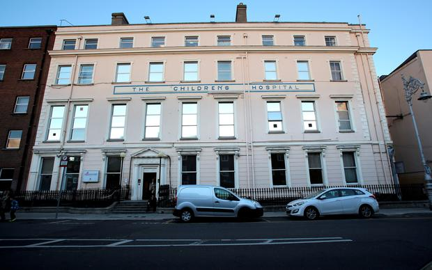 Doctors said 842 – many of them babies – were treated in Temple Street Hospital's A&E department in 2018