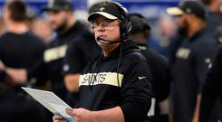 New Orleans Saints head coach Sean Payton. Photo: John David Mercer-USA TODAY Sports