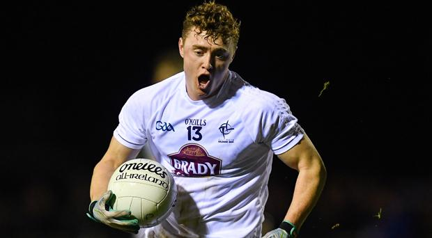 Kildare's Jimmy Hyland has capitalised on the offensive mark