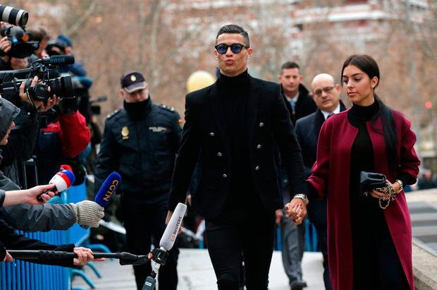 Ronaldo pleads guilty to tax fraud, gets 2-year suspended sentence