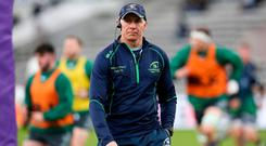 Connacht head coach Andy Friend prior to the Heineken Challenge Cup Pool 3 Round 6 match between Bordeaux Begles and Connacht at Stade Chaban Delmas in Bordeaux, France. Photo by Manuel Blondeau/Sportsfile