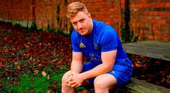 Ready and waiting: James Tracy is determined to make the most of any chance that comes his way to prove his worth. Photo: Ramsey Cardy/Sportsfile