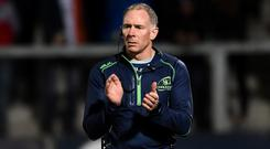Connacht head coach Andy Friend. Photo: Oliver McVeigh/Sportsfile