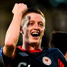 Chris Forrester: Keen to return home to Ireland. Photo: SPORTSFILE