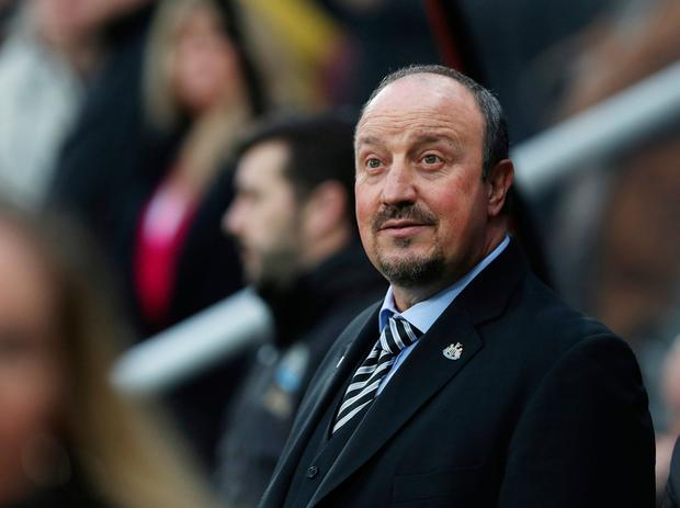 Benitez has refused to discuss transfers in public this month, it's understood that he is reaching breaking point as deadline day nears. Photo: REUTERS