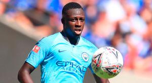 RETURNING: Pep Guardiola is pleased that he will have Bejamin Mendy back for the business end of the season. Photo: PA