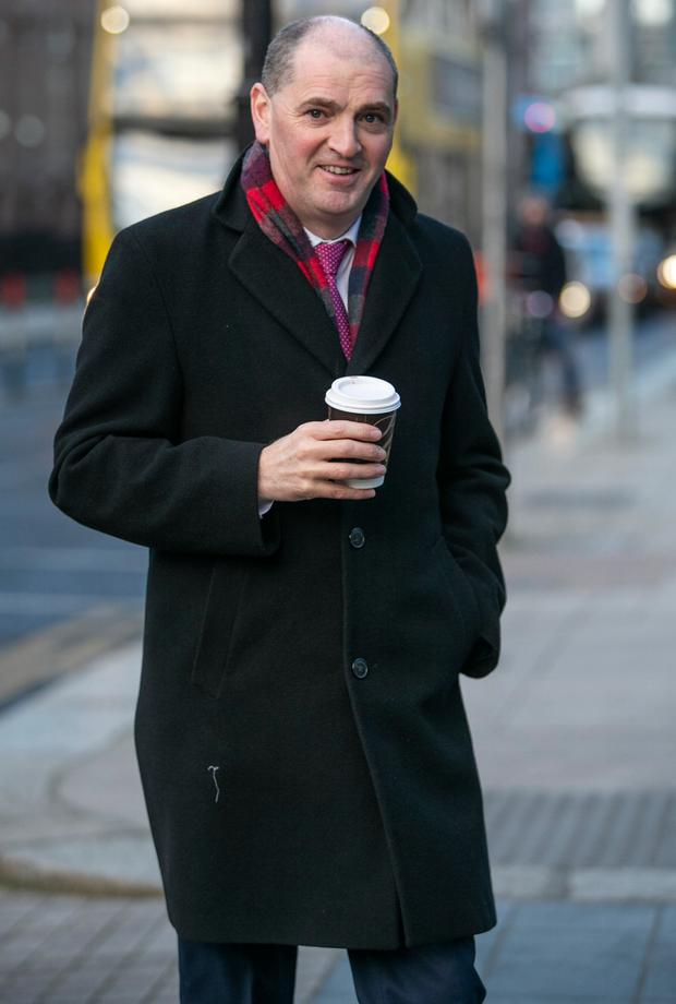 Legal fight: Junior minister in charge of defence Paul Kehoe. Picture: Kyran O'Brien
