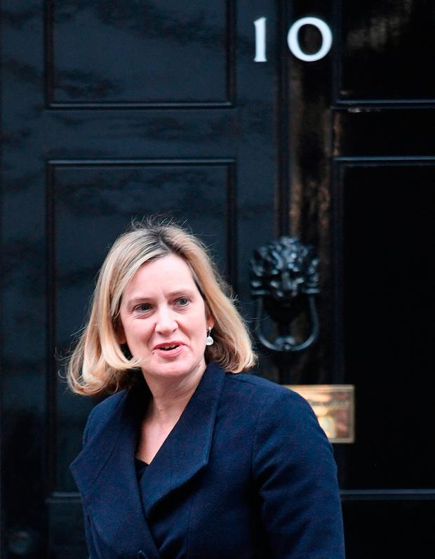 Amber Rudd has warned of resignations. Picture: PA