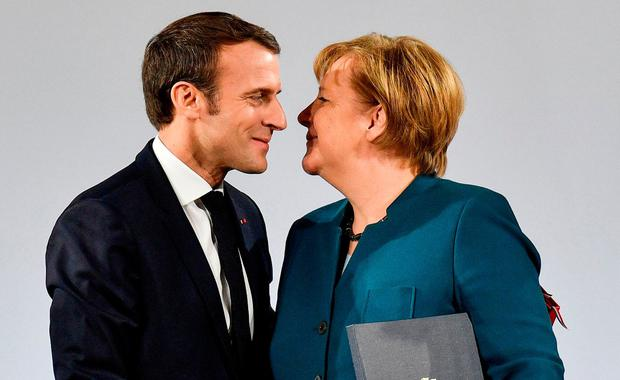 #Macron and #Merkel try to re-energize embattled EU project