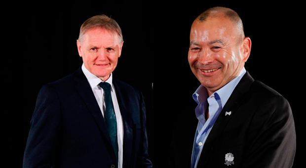 Joe Schmidt and Eddie Jones