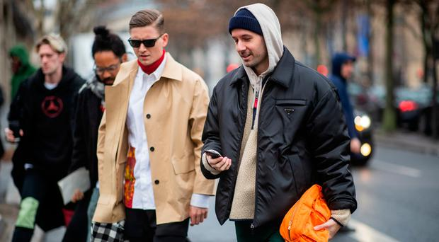 Guests seen outside Jacquemus during Paris Fashion Week - Menswear F/W 2019-2020 Day Six on January 20, 2019 in Paris, France. (Photo by Christian Vierig/Getty Images)
