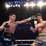22 December 2018; Michael Conlan, left, in action against Jason Cunningham during their Featherweight bout at the Manchester Arena in Manchester, England. Photo by David Fitzgerald/Sportsfile