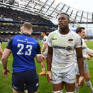 1 April 2018; Maro Itoje of Saracens following the European Rugby Champions Cup quarter-final match between Leinster and Saracens at the Aviva Stadium in Dublin. Photo by Ramsey Cardy/Sportsfile