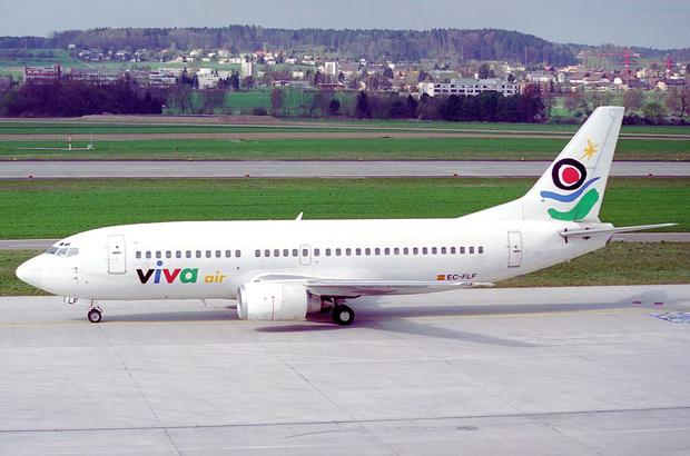 High-flyer: Colombia-based Viva Air, which is majority-owned by Dublin-based Irelandia Aviation, carried four million passengers in 2017