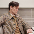 Cutting it fine: Former Doctor Who actor Matt Smith in a Burberry ad campaign. The luxury brand says it would have to stock up on materials and finished goods if Brexit happens without a deal