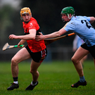 UCC's Mark Kehoe (left) was in fine form. Photo: Stephen McCarthy/Sportsfile