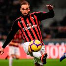 Higuain could make his debut in the FA Cup against Sheffield Wednesday. Photo: AFP/Getty Images