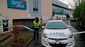 Gardai at the scene of Zach Parker's murder in Applewood Close, Swords