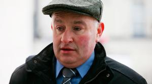 Patrick Quirke, who is on trial for the murder of Mr Ryan. Picture: Collins