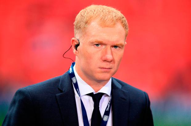 Paul Scholes is intent on securing a coaching role in the future