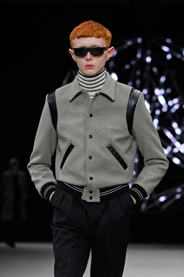 Ferdia Gallagher walks the runway during the Celine Menswear Fall/Winter 2019-2020 show as part of Paris Fashion Week on January 20, 2019 in Paris, France. (Photo by Pascal Le Segretain/Getty Images)