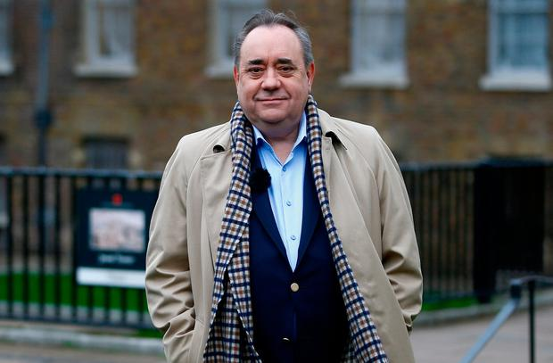 Alex Salmond, the former leader of the Scottish National Party (SNP) Photo: REUTERS/Henry Nicholls/File photo