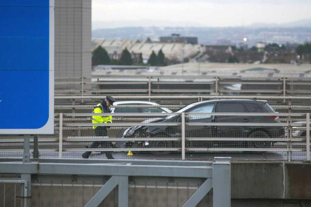 Gardai appeal for witnesses after multi-vehicle M50 crash