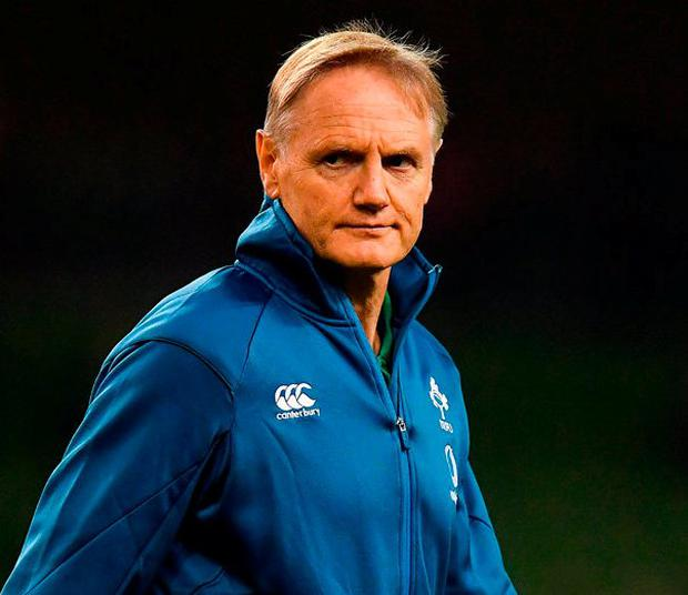 'In every facet of play under Joe Schmidt, Ireland are so precise in their positioning to cause the maximum inconvenience without it being an obvious penalty offence. Photo: Brendan Moran/Sportsfile