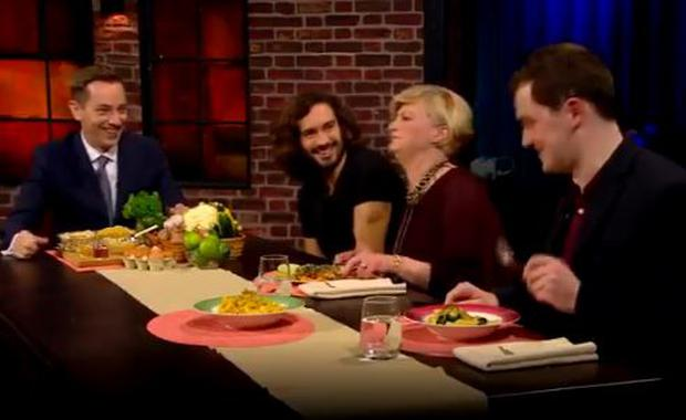 Audience members try Joe Wicks' recipes on The Late Late Show