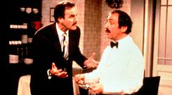 The Government and EU have taken a leaf out of 'Fawlty Towers' over the Border — don't mention the war