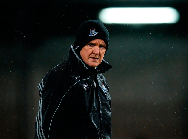 Dublin manager Mattie Kenny prior to the match against Carlow. Photo: Sportsfile