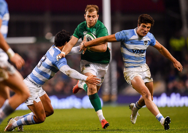'This year, perhaps it will be the turn of centre Will Addison, a former England Under-20 player who is now ripping it up for Ulster, to graduate.' Photo: Sportsfile