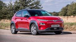 SMOOTHER OPERATOR: The fast-selling electric Hyundai Kona is impressive to drive