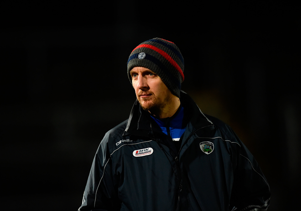 Laois manager John Sugrue. Photo: Sportsfile