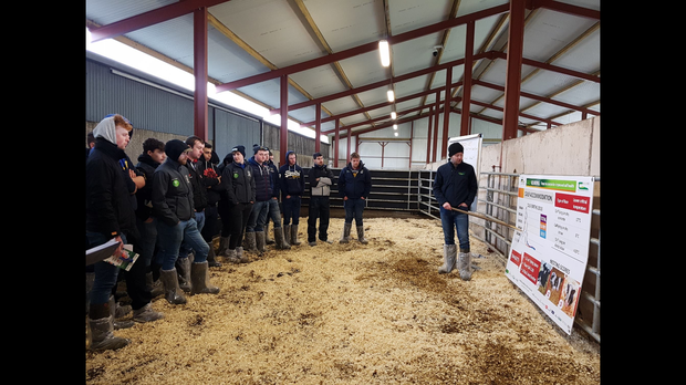 Farmers at the recent CalfCare event, which was organised by LacPatrick Dairies as part of the Animal Health Ireland (AHI), Teagasc and Volac series of CalfCare events this spring