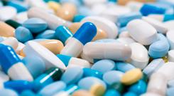 Supply worries: Vital medicines are often counterfeited. Stock Image