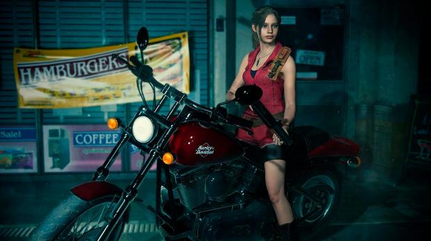 Resident Evil 2 (2019): The remake follows the story from two perspectives, including Claire Redfield seen here
