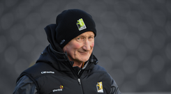27 January 2019; Kilkenny manager Brian Cody before the Allianz Hurling League Division 1A Round 1 match between Kilkenny and Cork at Nowlan Park in Kilkenny. Photo by Ray McManus/Sportsfile
