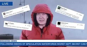 Damien Tiernan made the announcement about his new role in a video on Twitter