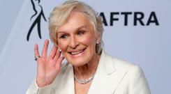 25th Screen Actors Guild Awards – Photo Room – Los Angeles, California, U.S., January 27, 2019 - Glenn Close poses backstage. REUTERS/Monica Almeida