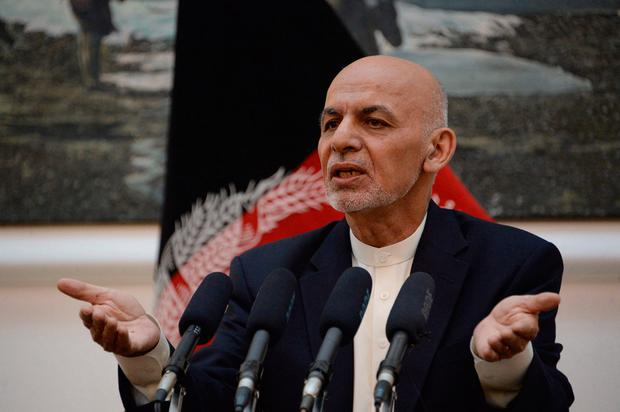 Interim government: Afghan President Ashraf Ghani. Photo: AFP/Getty Images