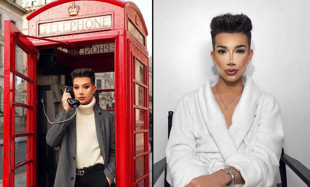 Beauty vlogger James Charles. Picture: Instagram