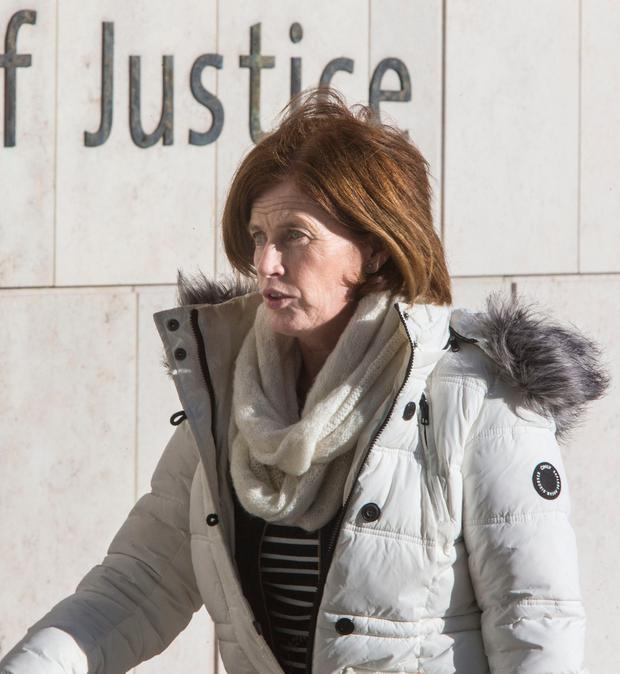 Mary Lowry pictured outside court. Photo: Colin O'Riordan